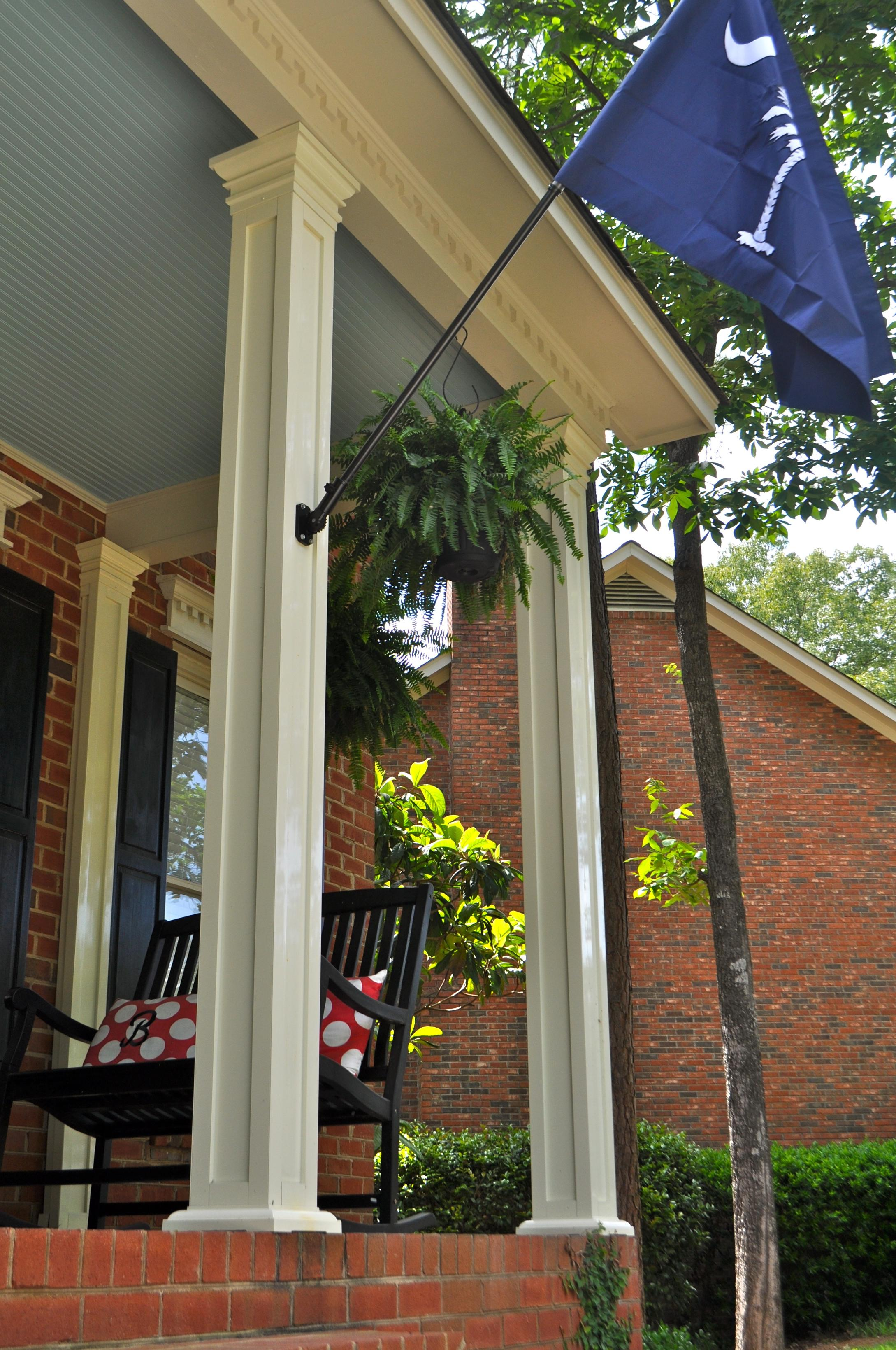 that aluminum pillars appeal porch curb tapered counts craftsman colonial columns